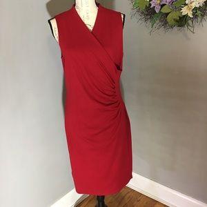 Ralph Lauren stunning red dress. EUC